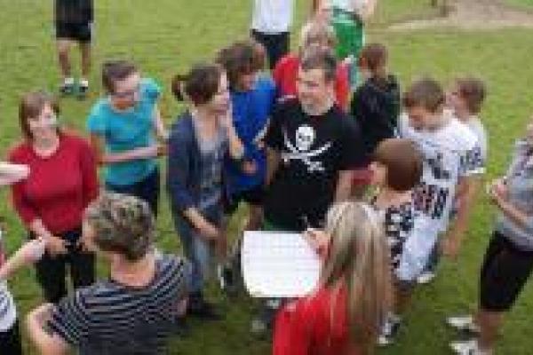 obóz dla młodzieży