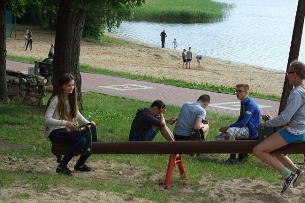 letnie kolonie językowe na Mazurach