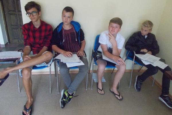 obóz językowy Dźwirzyno Bałtyk