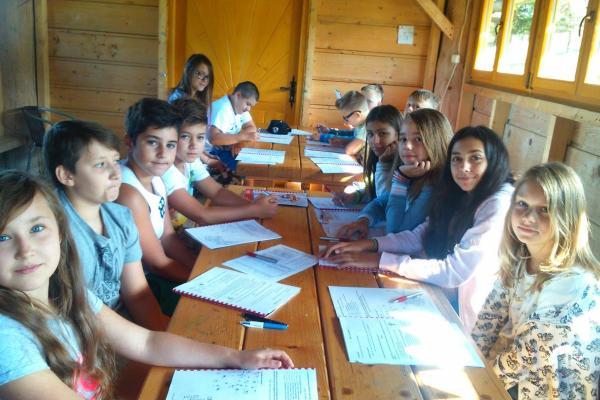 Nauka języka na kolonii